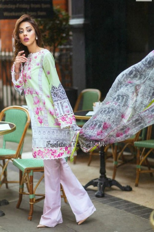 Farah Talib Aziz Lawn Collection 2015 (1)