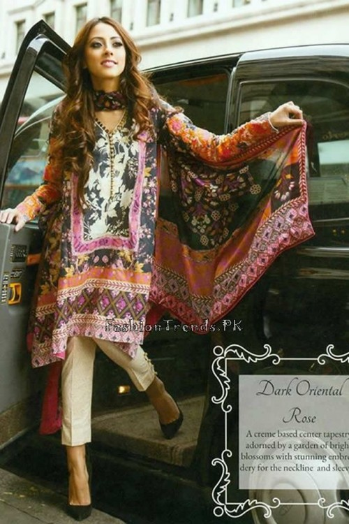 Farah Talib Aziz Lawn Collection 2015 (3)