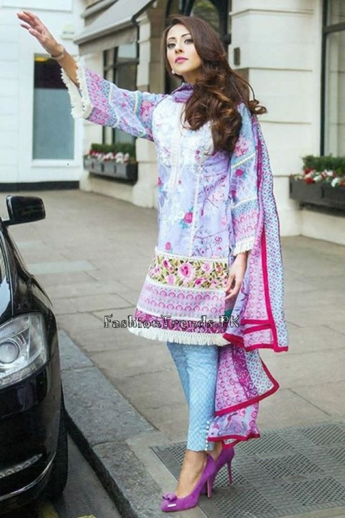 Farah Talib Aziz Lawn Collection 2015 (5)