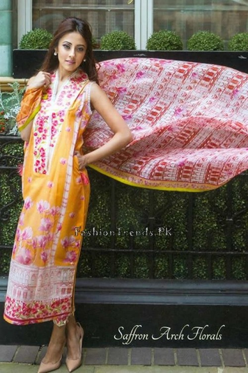 Farah Talib Aziz Lawn Collection 2015 (6)