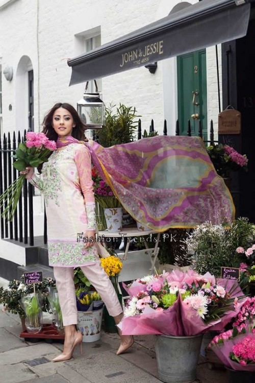 Farah Talib Aziz Lawn Collection 2015 (7)