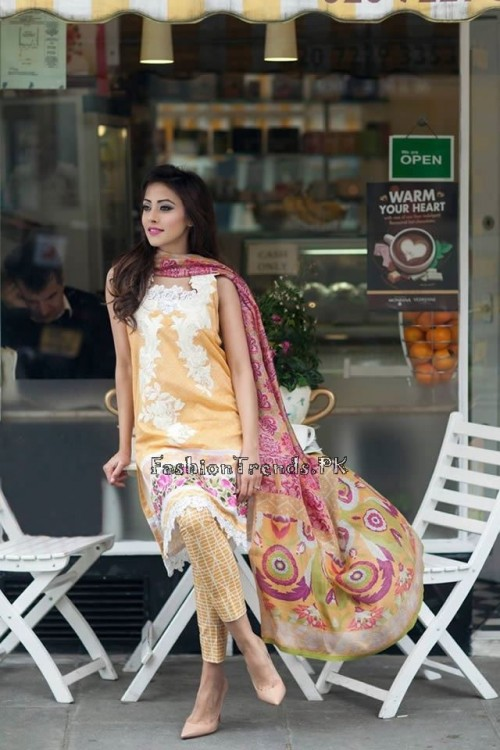 Farah Talib Aziz Lawn Collection 2015 (8)