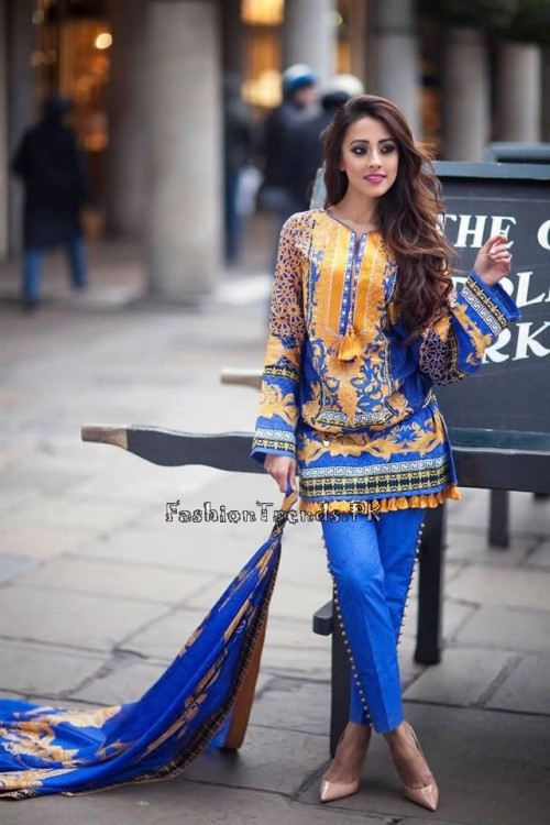 Farah Talib Aziz Lawn Collection 2015 (10)