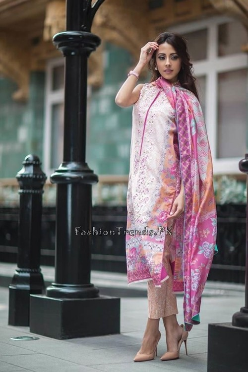 Farah Talib Aziz Lawn Collection 2015 (11)