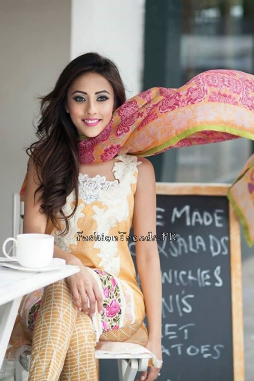 Farah Talib Aziz Lawn Collection 2015 (12)