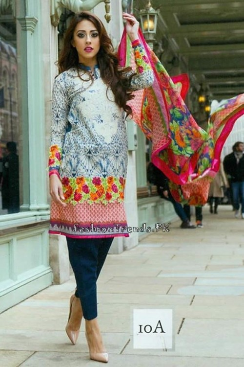 Farah Talib Aziz Lawn Collection 2015 (13)