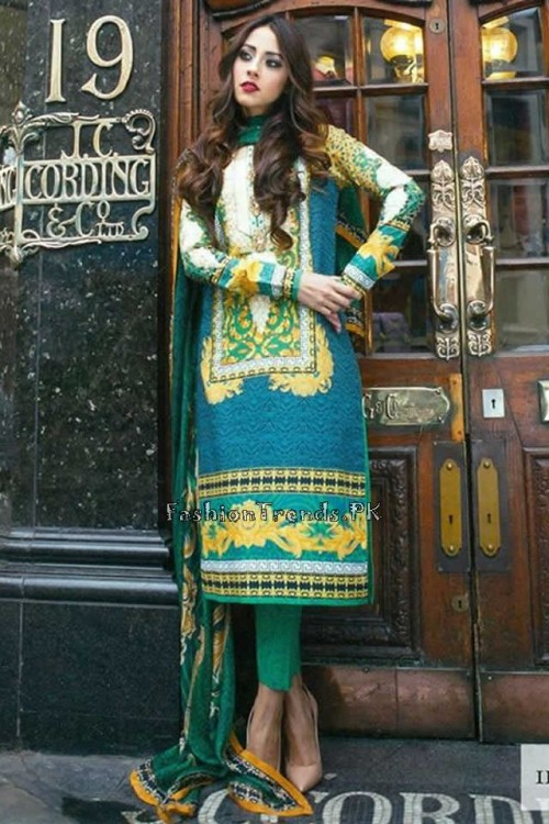 Farah Talib Aziz Lawn Collection 2015 (14)