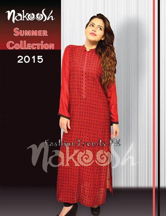 Nakoosh Summer Collection 2015 For Girls - Fashion 2019