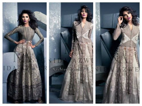 Nida Azwer Party Wear Collection 2015 (1)