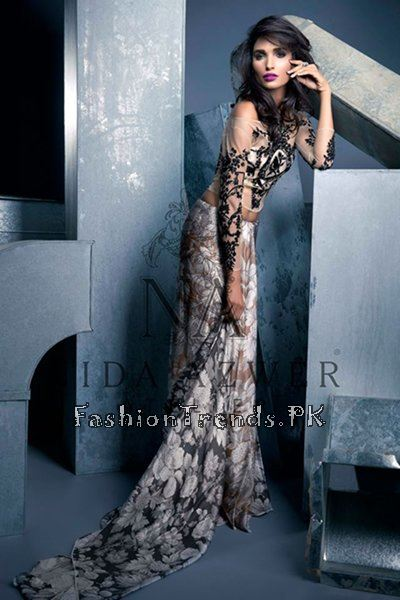 Nida Azwer Party Wear Collection 2015 (2)