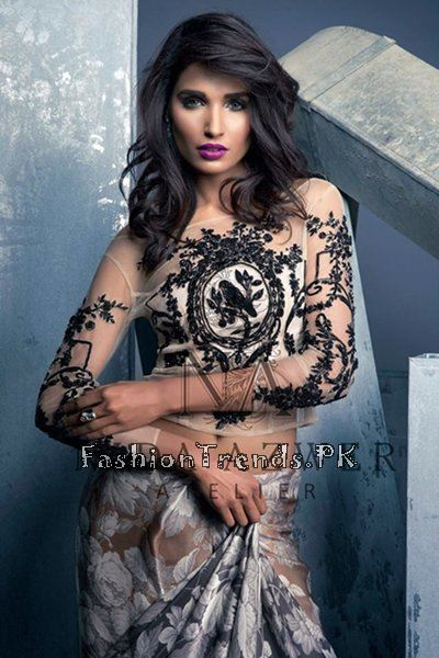 Nida Azwer Party Wear Collection 2015 (3)