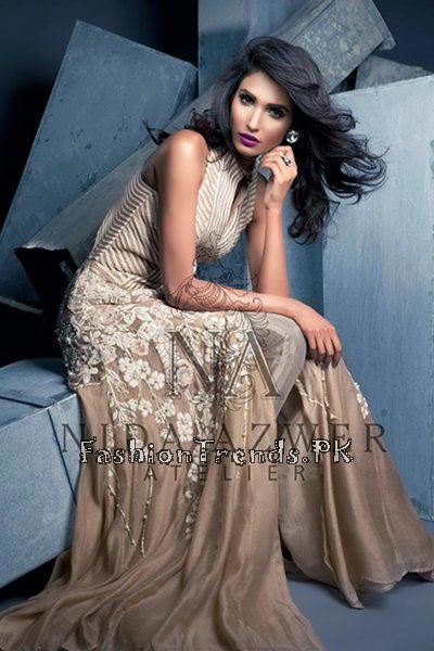 Nida Azwer Party Wear Collection 2015 (5)