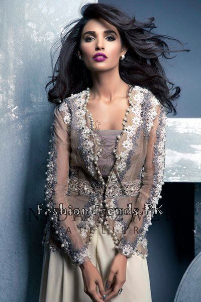 Nida Azwer Party Wear Collection 2015 (6)