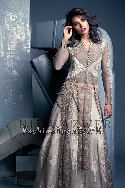 Nida Azwer Party Wear Collection 2015 (7)