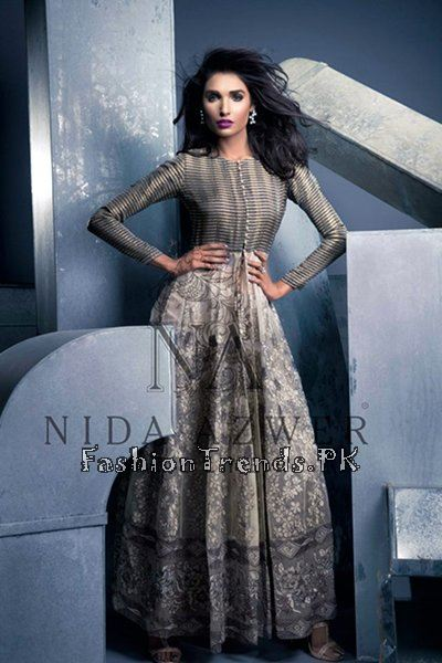 Nida Azwer Party Wear Collection 2015 (9)