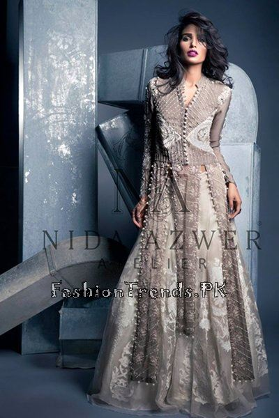 Nida Azwer Party Wear Collection 2015 (10)
