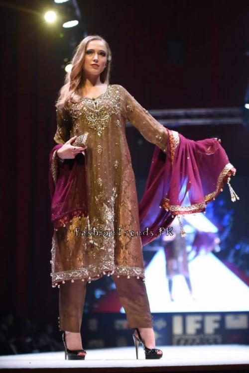 Rana Noman Haq Bridal Collection at International Fashion Festival 2015 (2)
