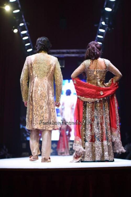 Rana Noman Haq Bridal Collection at International Fashion Festival 2015 (4)