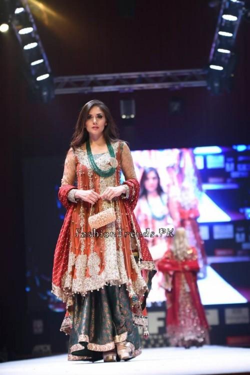 Rana Noman Haq Bridal Collection at International Fashion Festival 2015 (6)