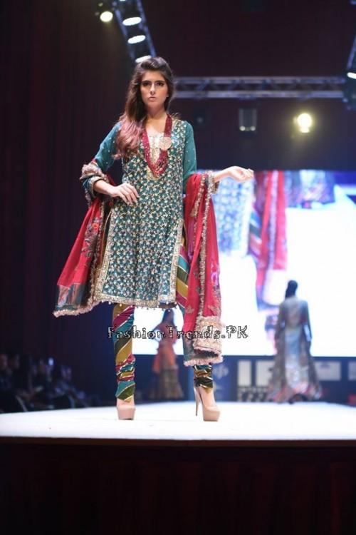 Rana Noman Haq Bridal Collection at International Fashion Festival 2015 (8)