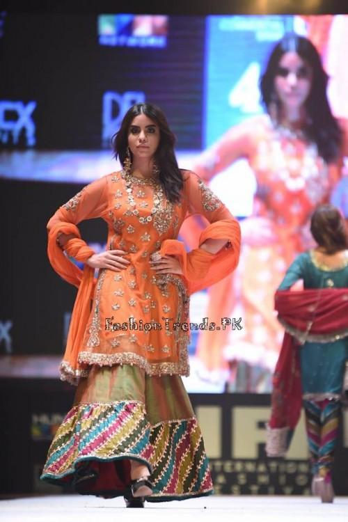 Rana Noman Haq Bridal Collection at International Fashion Festival 2015 (9)