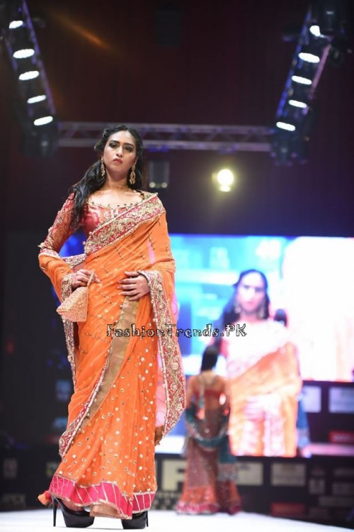 Rana Noman Haq Bridal Collection at International Fashion Festival 2015 (13)