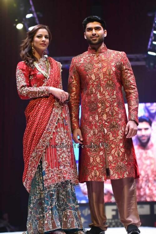 Rana Noman Haq Bridal Collection at International Fashion Festival 2015 (15)
