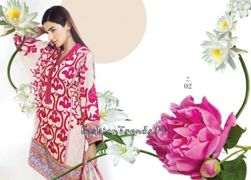 Sana Safinaz Unstitched Summer Collection 2015 (3)