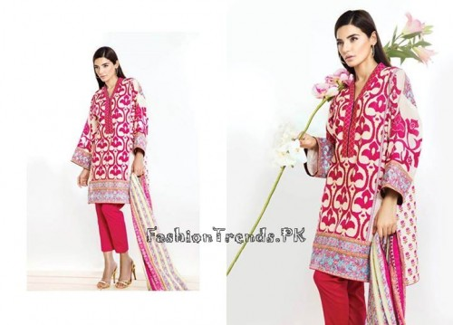 Sana Safinaz Unstitched Summer Collection 2015 (4)