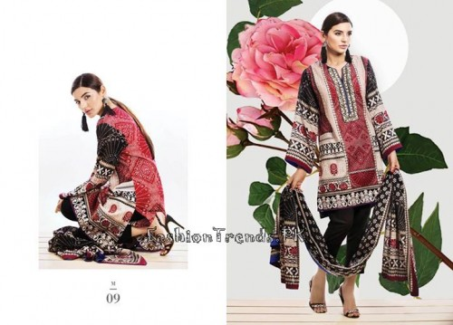 Sana Safinaz Unstitched Summer Collection 2015 (5)