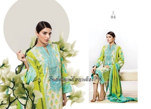 Sana Safinaz Unstitched Summer Collection 2015 (6)