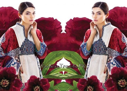 Sana Safinaz Unstitched Summer Collection 2015 (7)