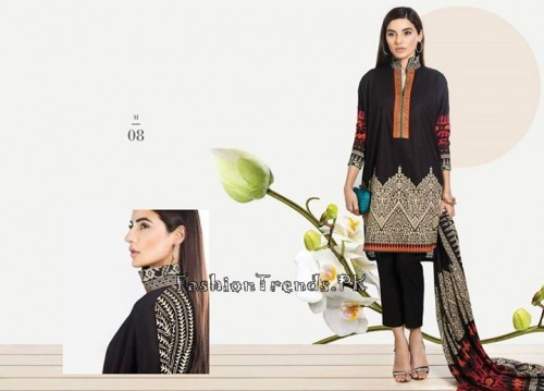 Sana Safinaz Unstitched Summer Collection 2015 (10)