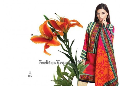 Sana Safinaz Unstitched Summer Collection 2015 (11)