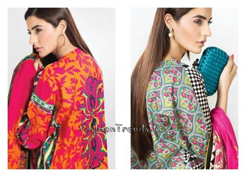 Sana Safinaz Unstitched Summer Collection 2015 (12)
