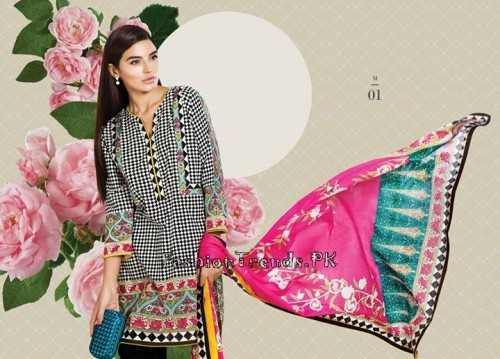 Sana Safinaz Unstitched Summer Collection 2015 (13)