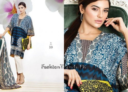 Sana Safinaz Unstitched Summer Collection 2015 (14)