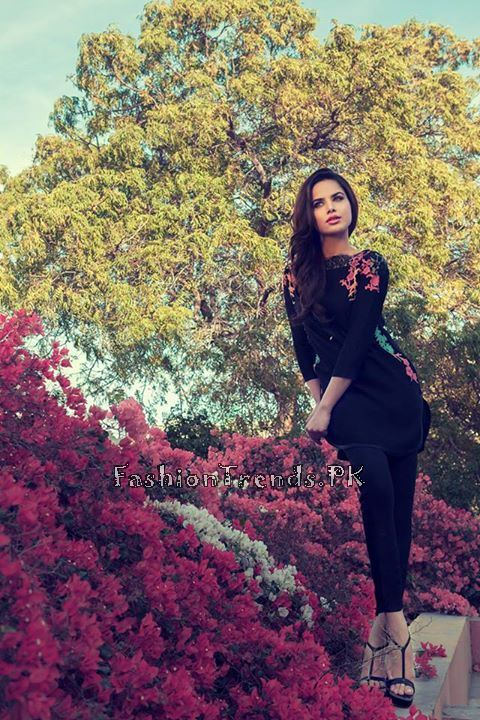 Sana Salman Formal Wear Collection 2015 (10)