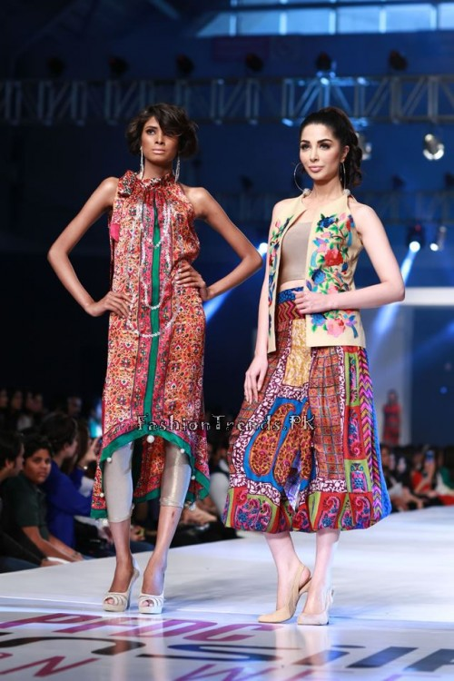 Shirin Hassan 'Rock N Rolla'Col. at PFDC Sunsilk Fashion Week 2015 (4)