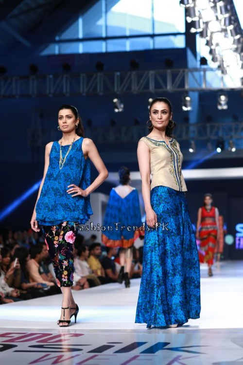 Shirin Hassan 'Rock N Rolla'Col. at PFDC Sunsilk Fashion Week 2015 (6)