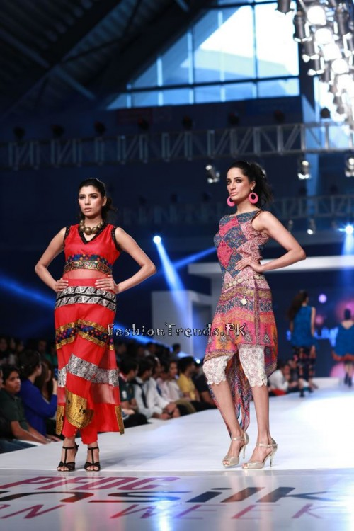 Shirin Hassan 'Rock N Rolla'Col. at PFDC Sunsilk Fashion Week 2015 (7)