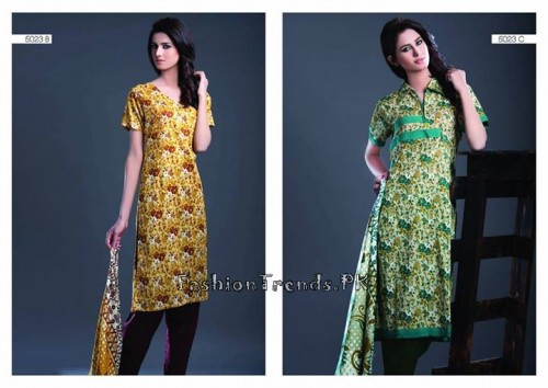 Sitara Textiles Sapna Lawn Collection 2015 (3)