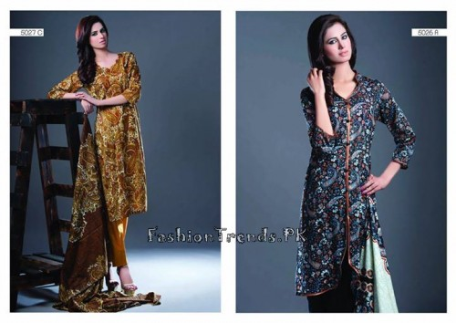 Sitara Textiles Sapna Lawn Collection 2015 (5)