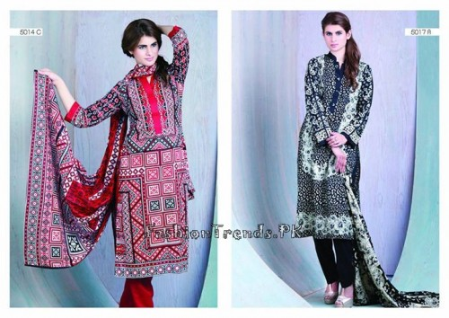 Sitara Textiles Sapna Lawn Collection 2015 (8)