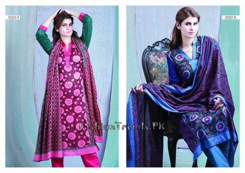 Sitara Textiles Sapna Lawn Collection 2015 (10)