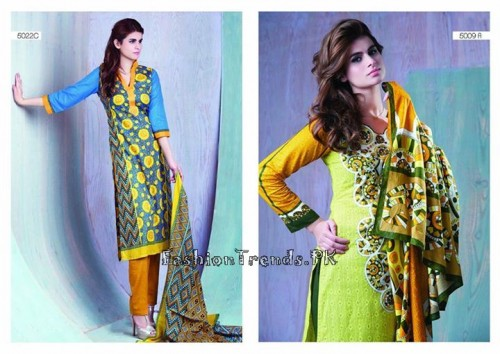 Sitara Textiles Sapna Lawn Collection 2015 (11)
