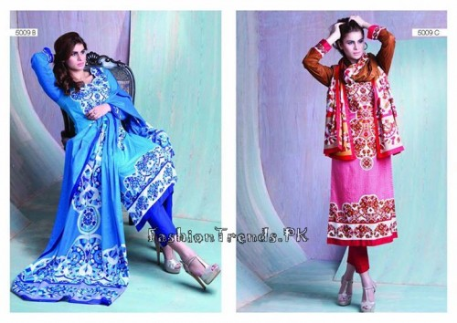 Sitara Textiles Sapna Lawn Collection 2015 (12)