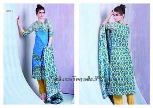 Sitara Textiles Sapna Lawn Collection 2015 (23)