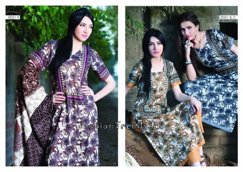 Sitara Textiles Sapna Lawn Collection 2015 (27)