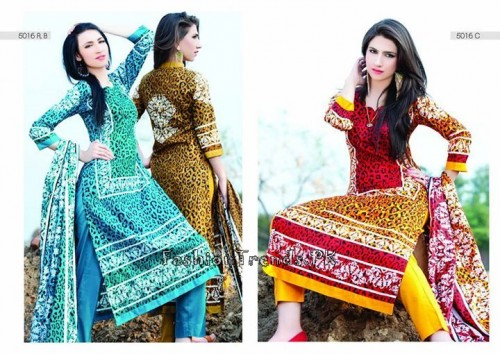 Sitara Textiles Sapna Lawn Collection 2015 (32)